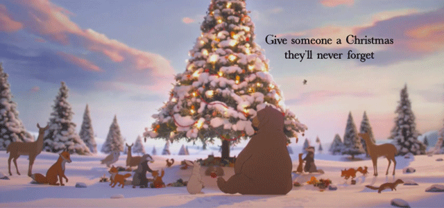 Coca Cola Gifts >> The Bear & The Hare John Lewis Christmas Advert 2013 Cost ...