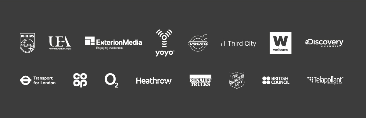 List of logo's of clients we work with