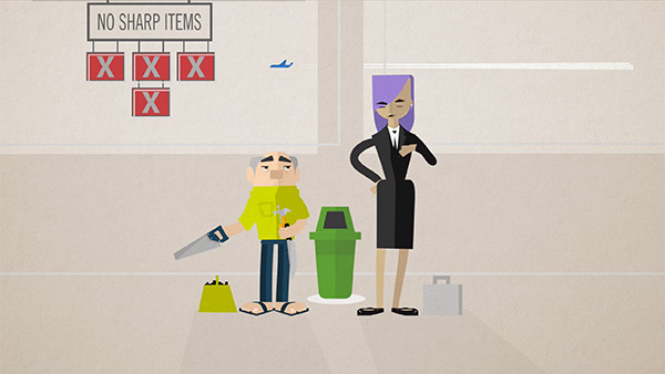 LCA Dangerous Items Animated How-To